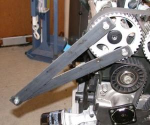 Приспособление для замены ремня ГРМ Форд Фокус 1 с двигателем Zetec-E