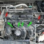 Чистим форсунки на Ford Fusion 1.6 AT