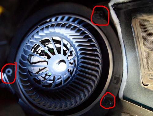 вентилятор отопителя салона ford c-max