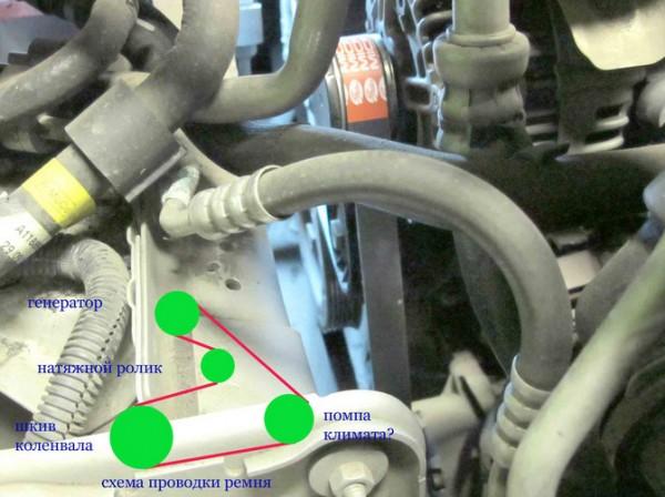 Меняем ремень генератора на Ford S-Max 2.0 TDCi