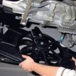 Снимаем вентилятор радиатора на Форд Фокус 2