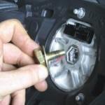 Как снять, установить руль Форд Фокус 1