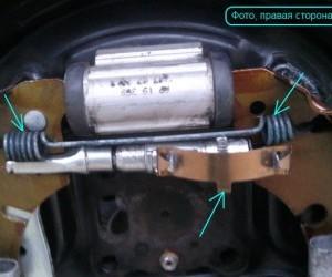 Меняем задние колодки на Форд Фьюжн с барабанными тормозами