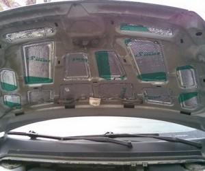 Делаем шумоизоляцию капота Ford Focus 2 своими руками