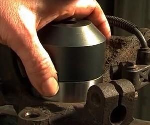 Замена  подшипника передней ступицы на Форд Мондео