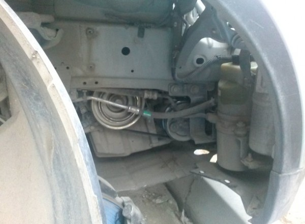 замена подкрылка на ford s-max