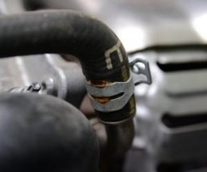 Меняем проблемный патрубок на двигателе ECOBOOST 1 Ford Focus 3