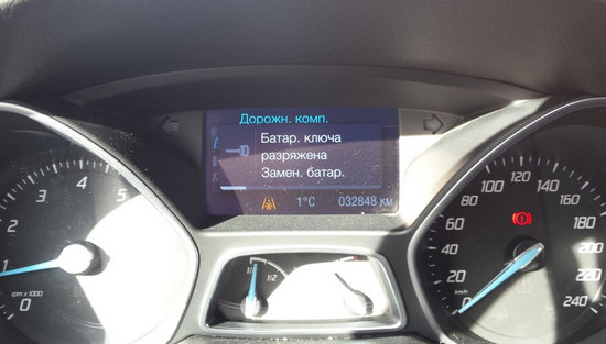Подробно о ключе зажигания Форд Фокус 3. Ремонт, замена батарейки