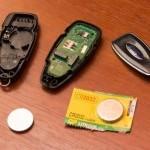 Замена Батарейки В Ключе Форд