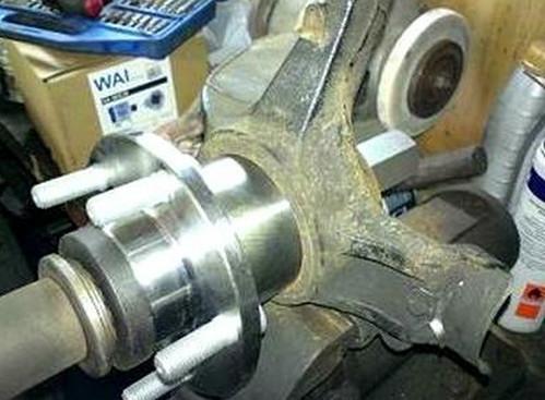 замена подшипника ступицы ford c max