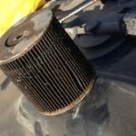 Выносим фильтр тонкой очистки Ford Galaxy из бензоанасоса