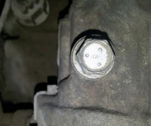 Замена упорного болта натяжения ременного тормоза АКПП Ford Focus 2